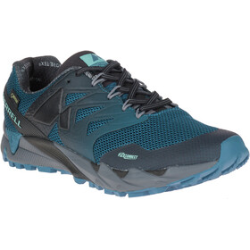 Merrell Agility Peak Flex 2 GTX Running Shoes Men grey/teal